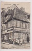 ORBEC : LE VIEUX MANOIR - CAFE RESTAURANT DUVAL - ENFANTS - CERCEAU - 1917 - R/V - - Orbec