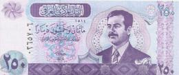 IRAK 250 DINARS 2002 UNC P 88