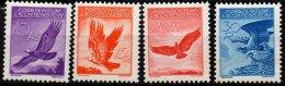 LIECHTENSTEIN - 4 Valeurs De 1934-36 Neuves LUXE - Poste Aérienne