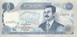 IRAK 100 DINARS 1994 aUNC P 84
