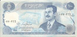 IRAK 100 DINARS 1994 XF+ P 84