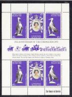 Christmas Island MNH Scott #87 Sheet Of 6 25th Anniversary Queen Elizabeth II's Coronation - Christmas Island