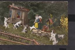 Märchenwald Fritz Elsinger ...Der Wolf Und Die Sieben Geißlein - Contes, Fables & Légendes