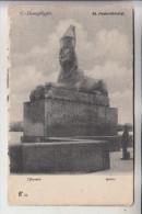 RU 190000 SANKT PETERSBURG, Sphinx, 1905, Randmängel - Russland