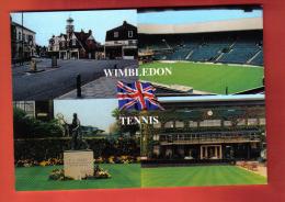 FOUK-32 UK   WIMBLEDON TENNIS And CROQUET STADIUM Not Used, Dimension : 12x17 Cm - Tenis