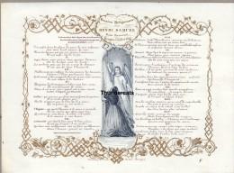 CARTE EN PORCELAINE 1844 DAVELUY LITHO BRUGES ** PORCELEINKAART BRUGGE ** HENRI SAMUEL SOUS LIEUTENANT - Brugge