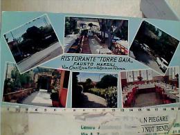 ROMA  RISTORANTE TORRE GAIA  VIA CASILINA  VEDUTE  N1965  EL8377 LUNGA 21 X 10,5 - Cafés, Hôtels & Restaurants