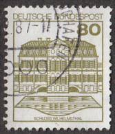 """Timbres D"""" Allemagne 1982  ´´ Yvert  970 ´´  80 P.  Château De Wilhelmsthal - Castles"""