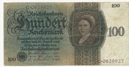 100 Reichsmark 1924 Ro. 171 - [ 3] 1918-1933 : Repubblica  Di Weimar