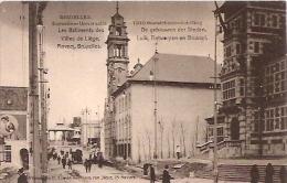"""EXPOSITION UNIVERSELLE DE BRUXELLES 1910-""""LES BATIMENTS DES VILLES DE LIÈGE""""-EDIT.H CLIMAN, ANVERS-NON CIRCULEE-GECKO. - Exposiciones Universales"""
