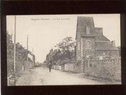 56 Mauron La Rue De La Poste Pas D'édit. ( Mesny ) - Autres Communes