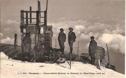 74 CHAMONIX OBSERVATOIRE JANSSEN AU SOMMET DU MONT BLANC - Chamonix-Mont-Blanc