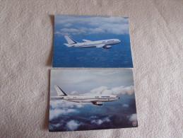 2 CARTES AIRBUS A 300 B2... - 1946-....: Moderne