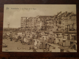 La Plage Et La Digue ( 1914 ) Anno 1931 ( Zie Foto Voor Details ) - Middelkerke