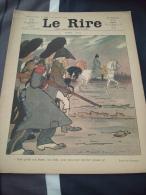 """REVUE LE  RIRE N°308    26/12/1908 ILLUSTRATEUR A ROUBILLE """" NOËL 1812 """" NAPOLEON ETOILE FILANTE - Kranten"""