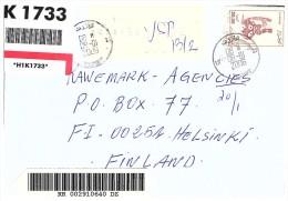 2006 LETTRE ALGERIE COMPLEMENT 0.68  TIGZIRT Pour FINLAND  / 5528 - Algérie (1962-...)