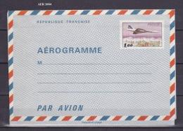 AEROGRAMME FRANCE N° 1004   NEUF - Biglietto Postale