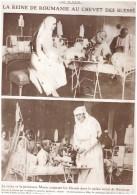 Guerre  14-18   La Reine De Roumanie Au Chevet Des Blesses     La Princesse Marie   Palais Royal De Bucarest - Sin Clasificación
