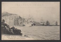 DF / 83 VAR / TOULON / AU MUSÉE : TABLEAU LE COMBAT DU VAISSEAU LE ROMULUS PAR VINCENT COURDOUAN - Toulon