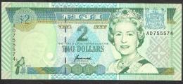 FIJI   P96     2   DOLLARS    1996    UNC. - Fidji