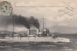 """CPA - Le Contre Torpilleur """" La Hire """" - Warships"""
