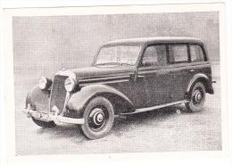 MERCEDES 170 S Kombinationswagen 3 Türen ('51) - (Das Kraftfahrzeug Serie B. Gruppe 1 - Nr. 284) - Auto's
