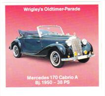 MERCEDES 170 CABRIO A  (´50) - ('Wrigley's Oldtimer-Parade') - Cars