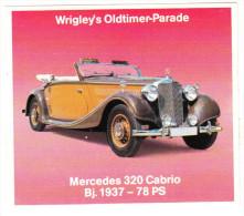 MERCEDES 320 CABRIO (´37)  - (´Wrigley´s Oldtimer-Parade´) - Auto's