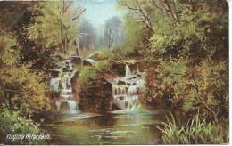 Virginia Waterfalls Langsdorff & Co 19 City Rd London EC  No 670 Used  Both Sides Shown - Buckinghamshire