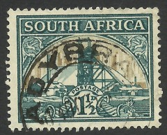 South Africa, 1 1/2 P. 1936, Sc # 51a, Used (2) - Zuid-Afrika (...-1961)