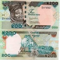 NIGERIA 200 Naira 2010 P-New UNC - Nigeria