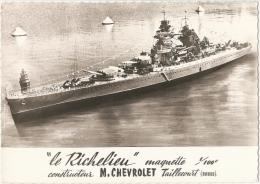 """""""Le Richelieu"""" - Maquette  1/100e - Constructeur M. Chevrolet, Taillecourt (Doubs) - Guerra"""