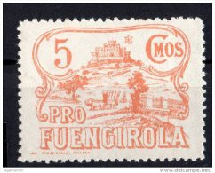 Fuengirola ( Malaga ) - Pro Fuengirola  -  5  Cts. - Sofima 1 - Guerre Civile  Espagne   Spain Civil War - Castillos