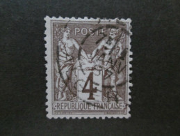 N°88 OBLITERE TTB - 1876-1898 Sage (Type II)