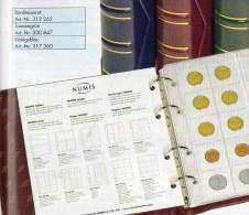 NUMIS Classic+Kassette Bordeauxrot Für 15 Münzhüllen Neu 20€ Für Beliebige Münzen/ EURO-Münz-Set 1C.-2€ Ohne Münzblätter - Coins