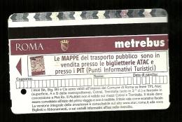 Biglietto Autobus e Metro Italia - Roma tipo 5