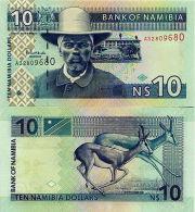 NAMIBIA - 10 Dollars 2008 FDS - UNC - Namibie