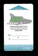 Biglietto Autobus Italia - AIR Avellino da 7.20 Euro