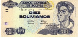 Bolivia P.new 10 Bolivianso 2013  Xf - Bolivia