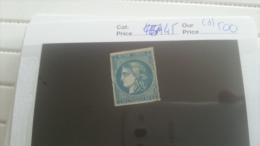 LOT 219268 TIMBRE DE FRANCE NEUF(*) N�45 VALEUR 500 EUROS