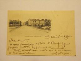 Carte Postale - COURSEULLES (14) - Rue De La Mer (1183) - France