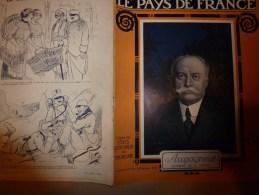 1915 JOURNAL De GUERRE(Le Pays De France):Tarvis;Clermont-en-Argonne;Laheycourt;SORLINGUES;Oesel;Riga; Flotte Allemnde - Revues & Journaux