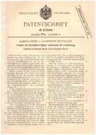 Original Patent - Albert Hirth in Cannstatt - Stuttgart , 1912 , verstellbarer Propeller , Flugzeug , Flugzeugbau !!!