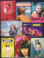 USSR, Russia, Belarus, Ukraine 15 V   Beautiful Girls - Calendari