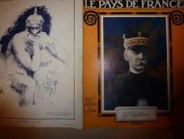 1915 JOURNAL De GUERRE(Le Pays De France):Vauquois;MITRAILLEUSE;Navire PROVENCE;Proti,Antizoni,Halki,Prinkipo,Tchardak - Revues & Journaux