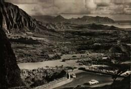 """CP Photo - Le Point De Vue Du NUANUU Pali Dans L'Ile D'OAHU  -  Photo Extraite Du Film """"Hawaï"""" De Jacques Chegaray - Oahu"""