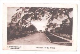 """RP BARRANQUILLA No.60 COLOMBIE COLOMBIA  Avenida """"X"""" El Prado éd. Libreria Cervantes BARRANQUILLA No.60 - Colombie"""