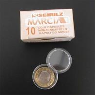 50 Capsules 23,00 Mm - Voor Stukken Van 0,20 Euro - Pour Pièces De 0,20 Euro - Matériel