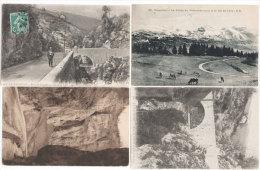 VILLARD DE LANS - 4 CPA - Col De L' Arc - Gorges D' Engins -   (70825) - Villard-de-Lans