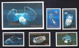 AZE-17    AZERBAIJAN 1995 SEA JELLES